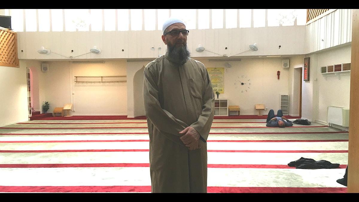 Abo Raad, imam vid moskén al-rashideen i Gävle.