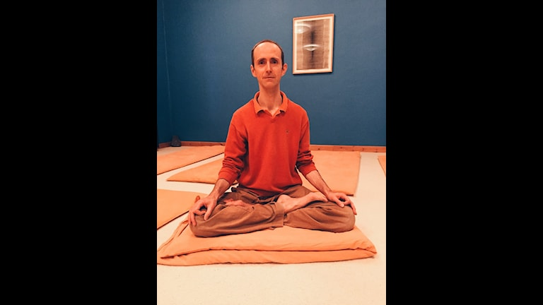 Turiya, yogalärare på Skandinavisk Yoga- och meditationsskola.