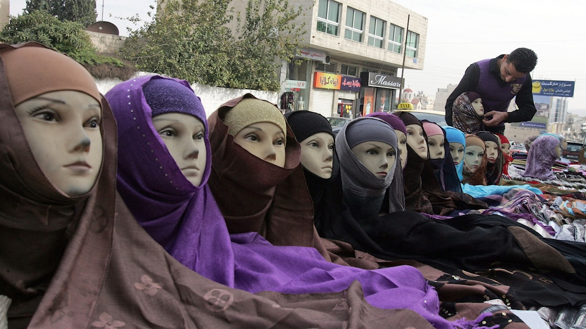 Muslimsk huvudduk hijab