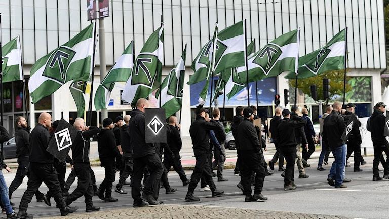 NMR demonstration i Göteborg.