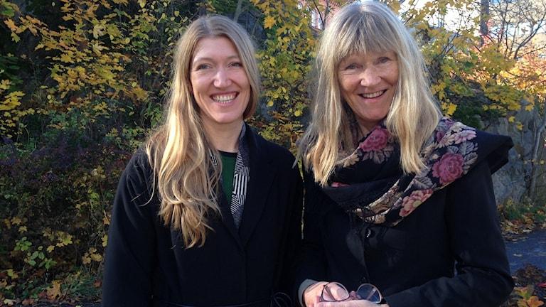 Karin Ekberg och Ingela Bendt