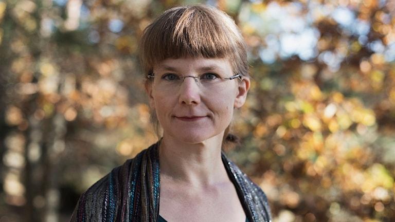 Författaren Lina Sjöberg