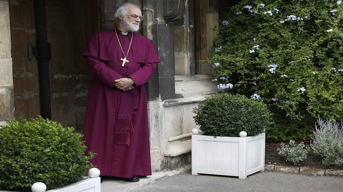 Tidigare ärkebiskopen Rowan Williams vill att Storbritannien stannar kvar i EU. Foto: AP