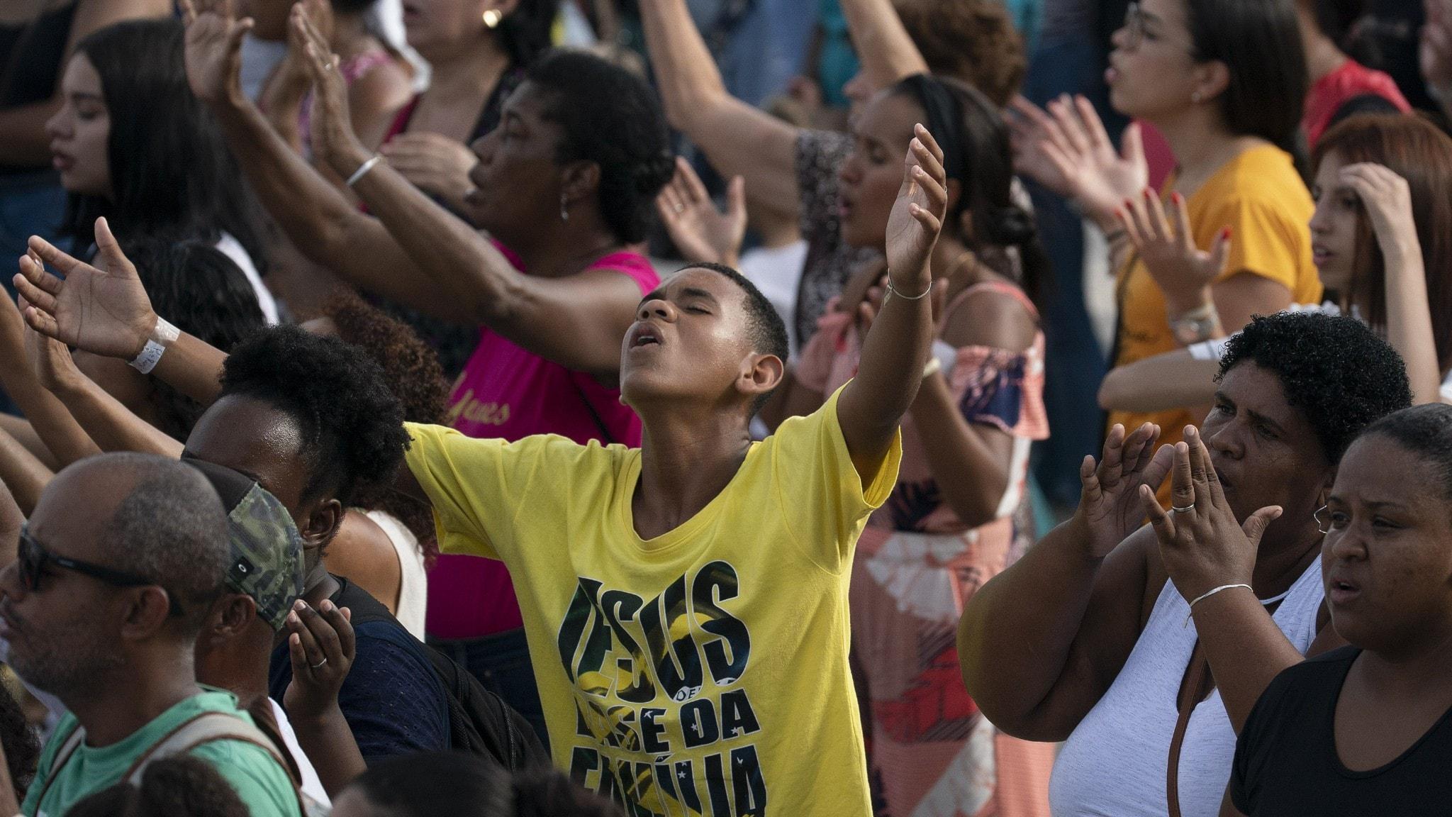 I Brasilien har pingströrelsen 20 miljoner medlemmar.