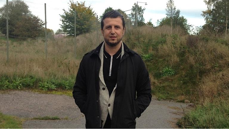 Mensur Mustafic ordf bosniska muslimska föreningen Norrköping