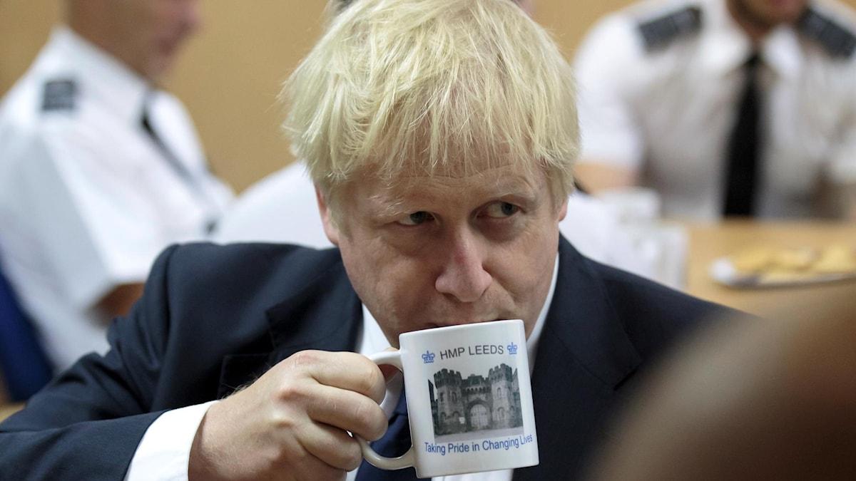 Premiärminister Boris Johnson