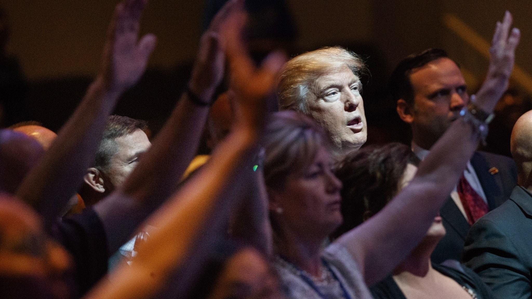 Amerikas kristna och president Trump