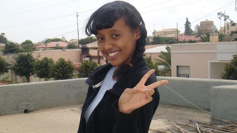 Då 15-åriga Ciham Ali Ahmed fängslades för sex år sen i Eritrea. Sen dess är hon försvunnen