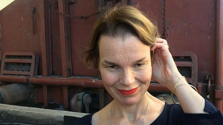 Muusikko Anna Järvinen.