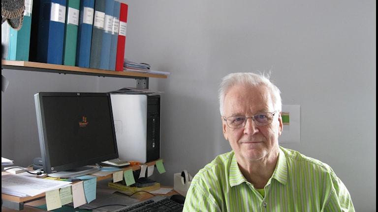 Matti Lautkoski. Kuva Foto: Maria Elisson/SR Örebro