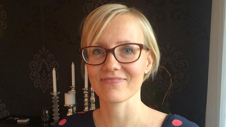 Beate Hyttinen Lindgren. Foto. Virpi Inkeri/SR