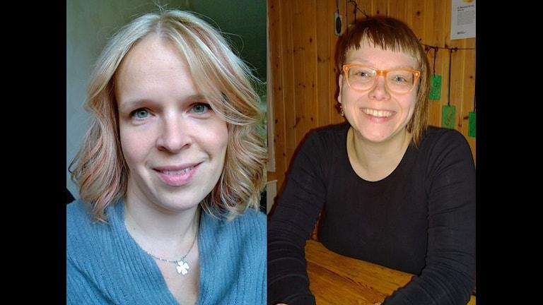 Hanna Wåhlin ja Mira Lindgren. Foto: Privat