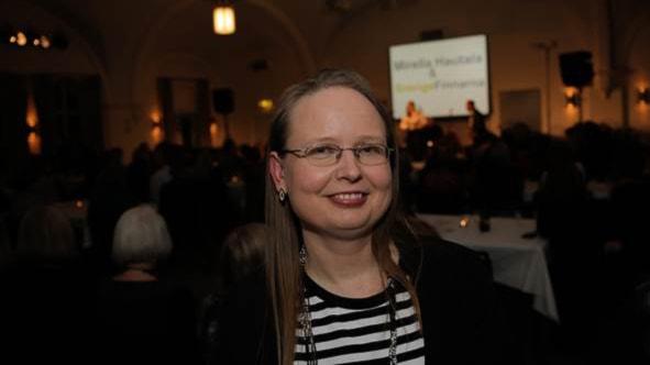 Vuoden 2014 Arjen sankari Nina Uddin. Foto: Akseli Kaukoranta