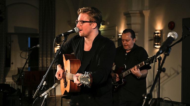 Markus Fagervall ja Hannu Kiviaho. Foto: Akseli Kaukoranta