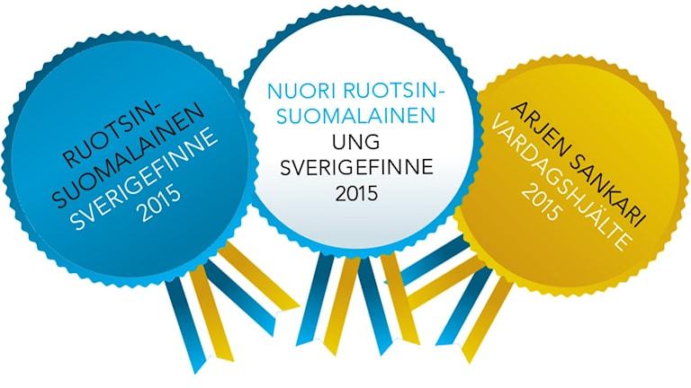 Ruotsinsuomalaiset 2015- logokuva. Kollage: Virpi Inkeri/SR