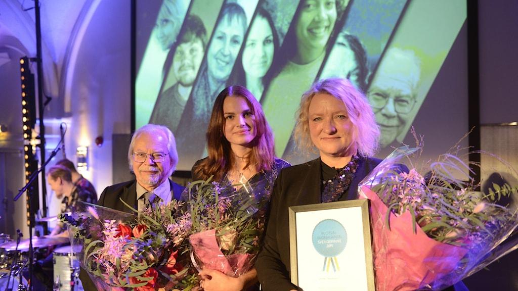 Årets Sverigefinnar 2019: Esko Melakari, Viivi Paavonperä och Anna Takanen