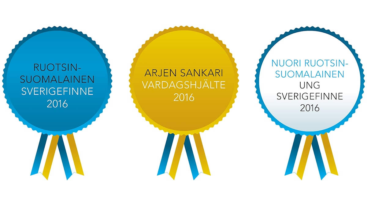 Ruotsinsuomalaiset 2016 tunnustukset