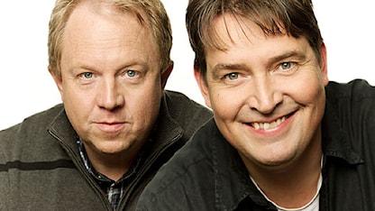 Anders Jansson och Johan Wester Foto: Ola Kjelbye