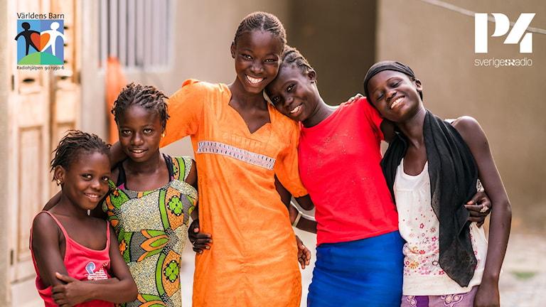 Radiohjälpens kampanj i P4 Sveriges Radio. Tillsammans hjälper vi barn i världen.