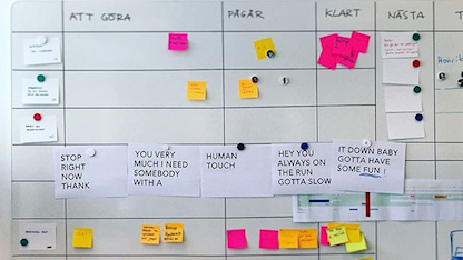 Här kan du följa oss som jobbar med innovation på Sveriges Radio.  @sr_innovation