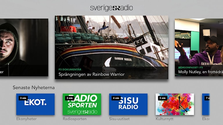 Sveriges Radio på Apple TV