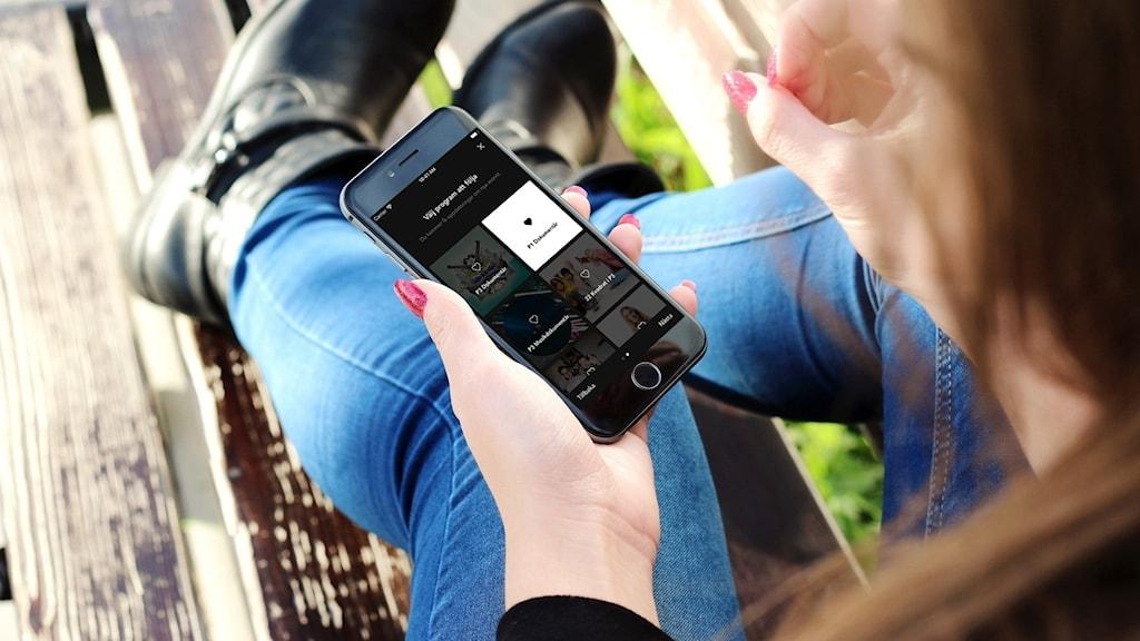 Onboarding i Sveriges Radio Play-appen