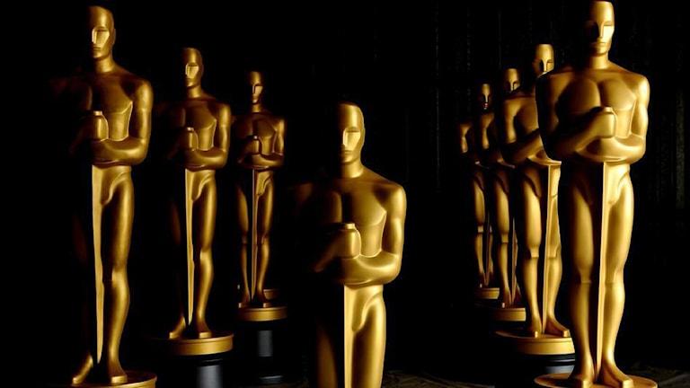 Oscarsstatyetter.