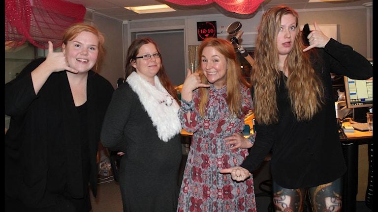 Linnea och Sara skapar ny tradition