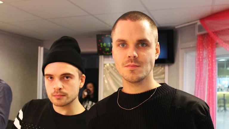 Erik och Herbert. Foto: Björn Berglund/Sveriges Radio