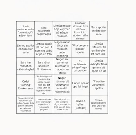 PP3 Bingo