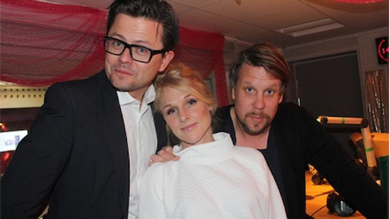 Filip, Fredrik och Karin