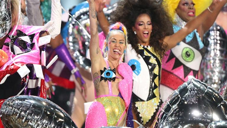 Miley Cyrus på VMA