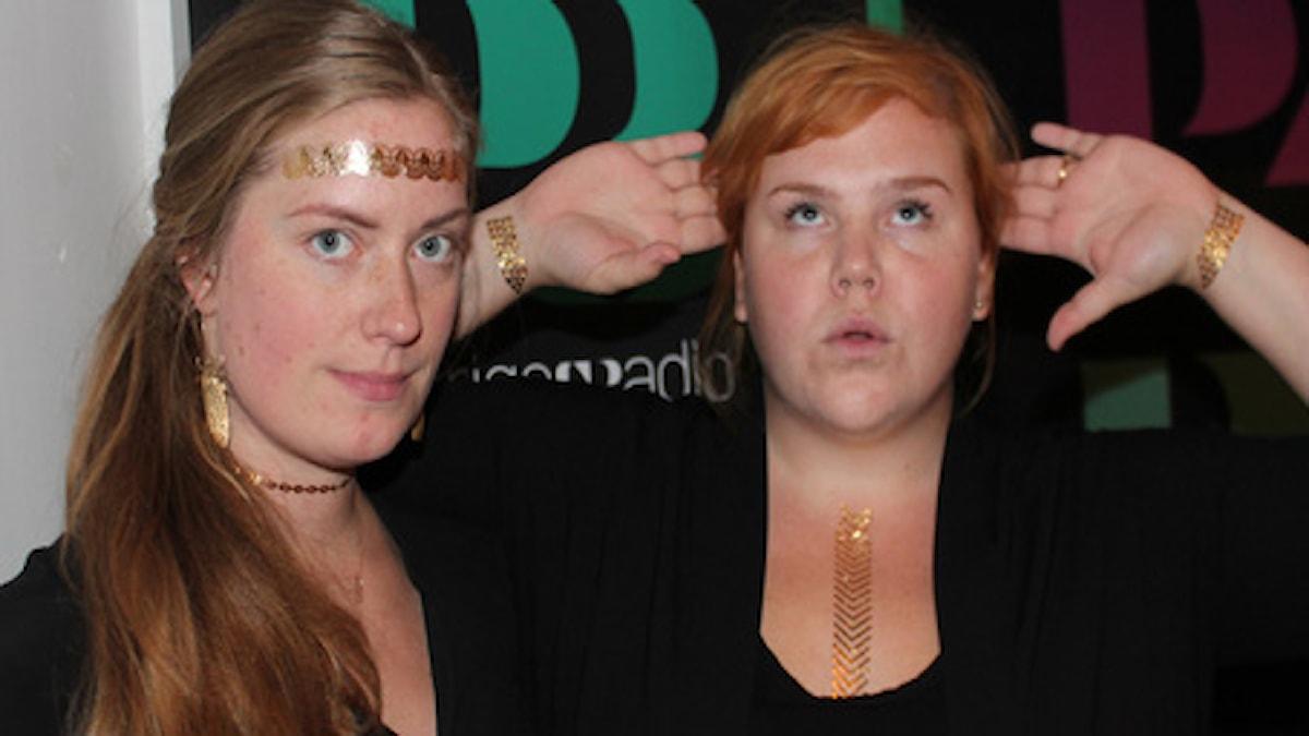Linnea och Sara tatueringar