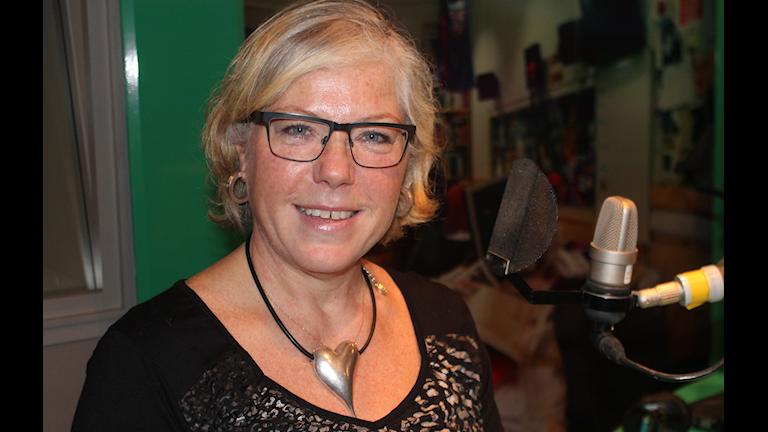 Katarina Gustafsson ansvar för undervisningen i Vällingby SFI
