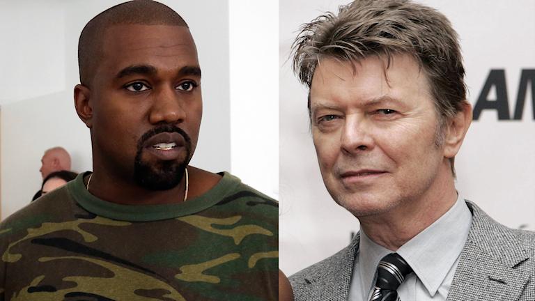 Kanye West och David Bowie