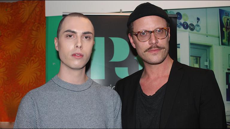 Kristian Pehrsson och Jesper Lindgren som gör Drag i Stockholm
