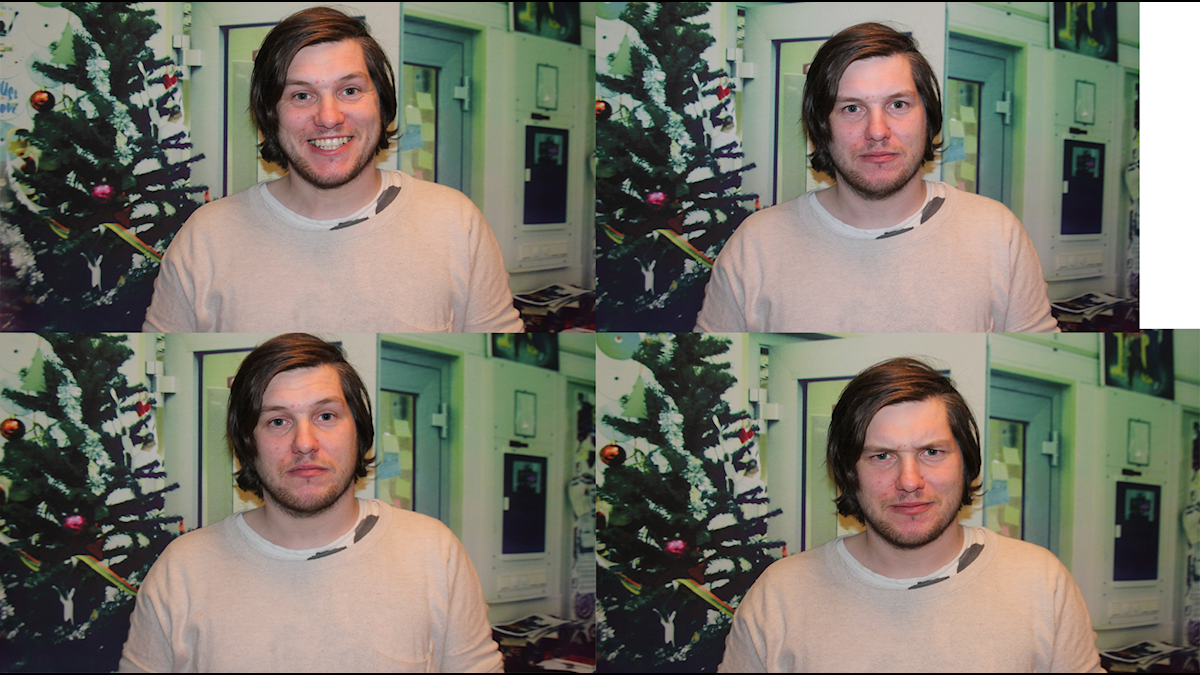Fyra bilder på Rasmus Arvidsson, Avantgardet.