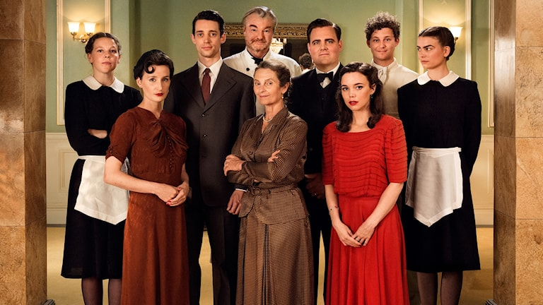 Bild på hela casten från Vår Tid Är Nu