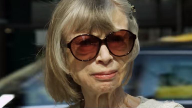 Bild på Joan Didion från Netflix