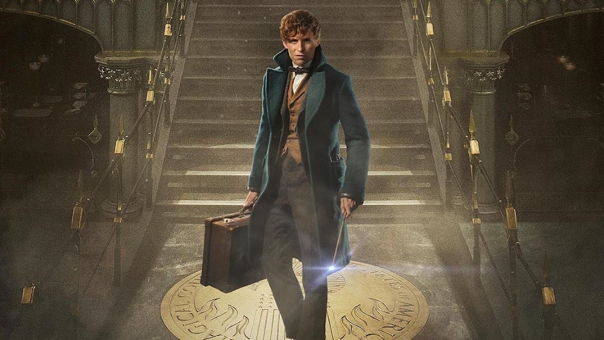 "Bild från filmen ""Fantastic beasts and where to find them"""