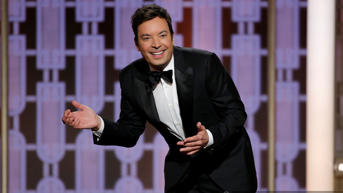 Jimmy Fallon från Golden Globes