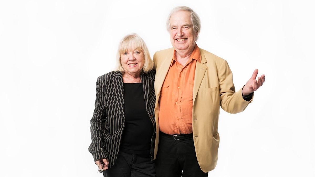 Monica och Carl-Axel Dominique. Foto: Mattias Ahlm/Sveriges Radio