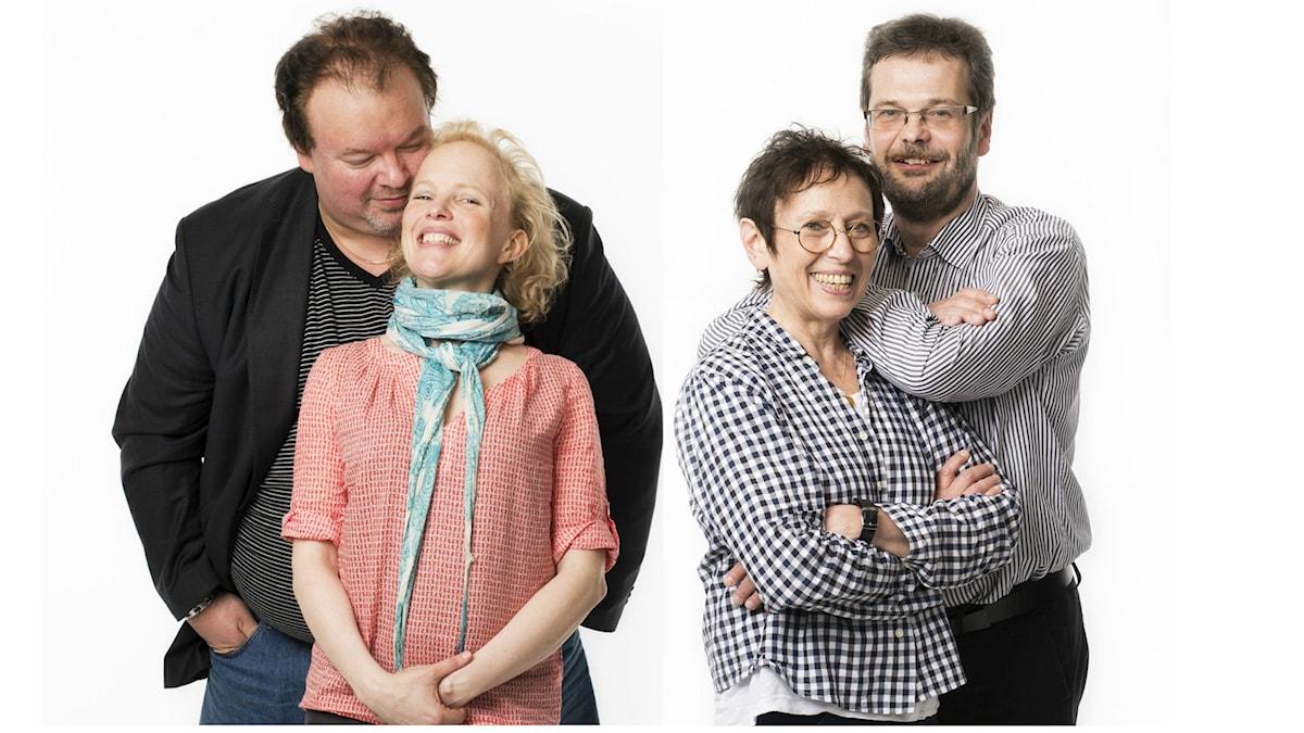 Marcus Jupither, Kerstin Avemo, Rut Pergament, Göran Gademan. Foto: Mattias Ahlm/Sveriges Radio