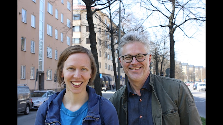 Anna Högberg och Mats Bergström