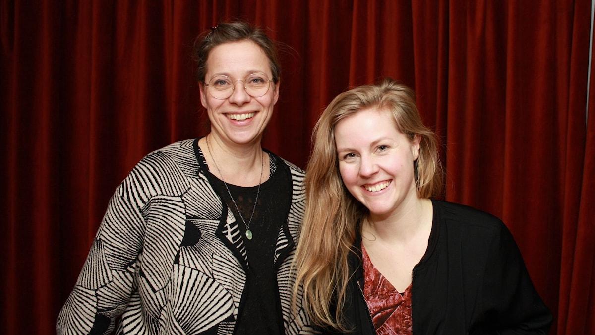 Lina Nyberg och Linnea Olsson foto: David Silva