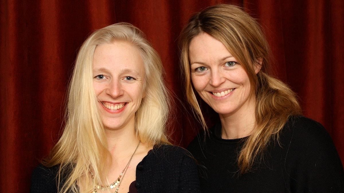 Lena Jonsson och Elin Rombo. foto David Silva