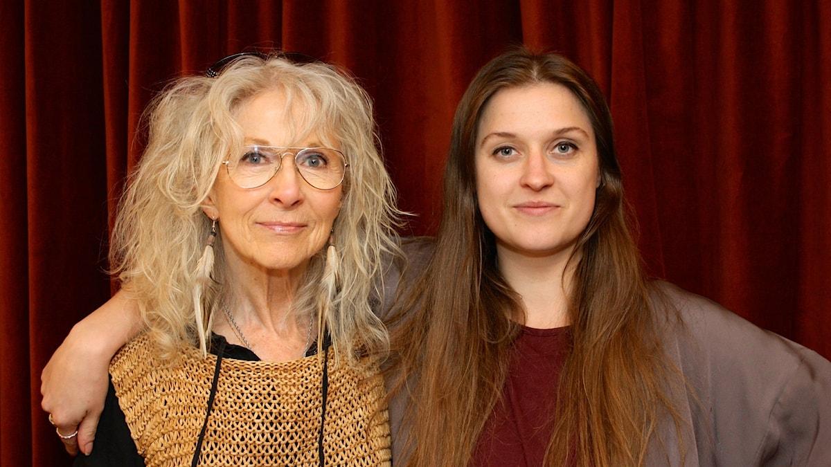 Merit Hemmingsson och Xenia Kriisin foto: David Silva