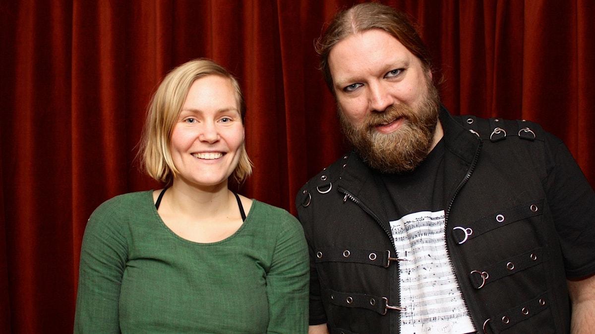 Marie Hanssen Sjåvik och Rickard Söderberg foto: David Silva