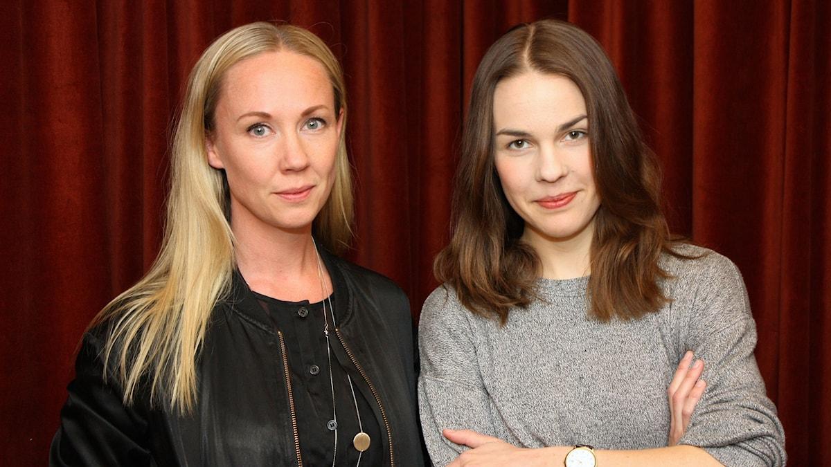 Lisa Nordström och Isabella Lundgren foto: David Silva