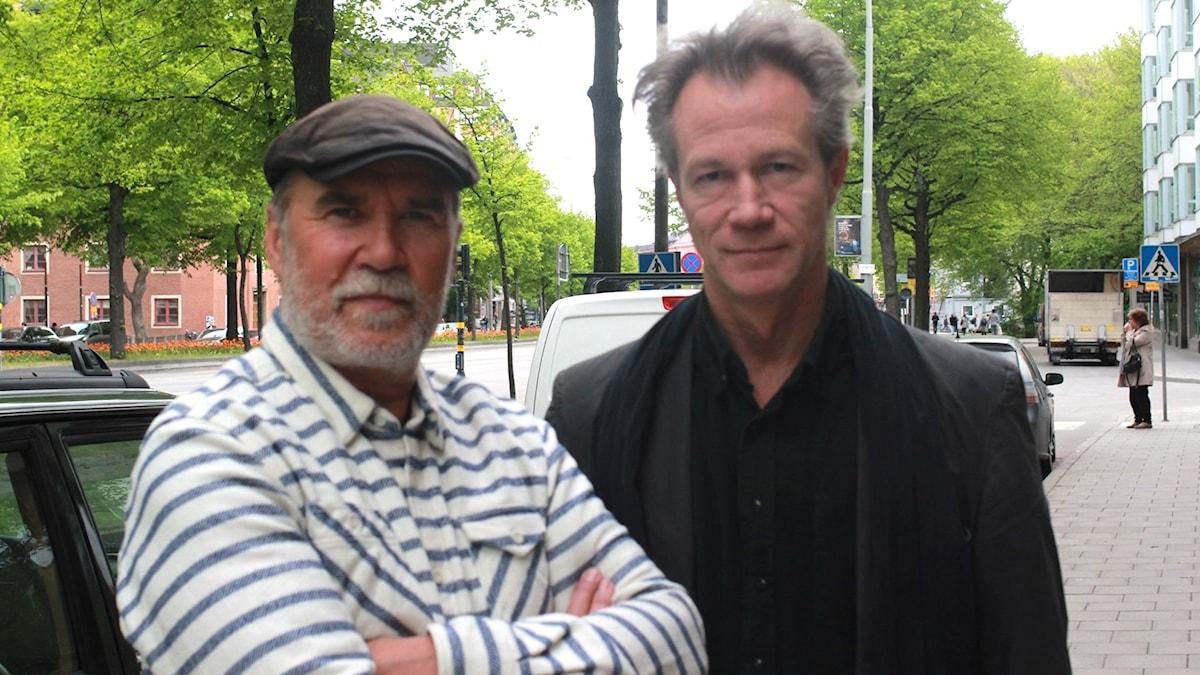 Ale Möller och Gunnar Idenstam
